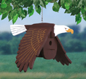Flying Eagle Birdhouse Woodcraft Pattern
