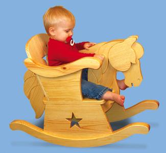 Little Pony Rocker Wood Project Plan
