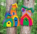 Wacky Birdhouses Woodcraft Plan