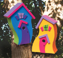 Whimsical Birdhouse Wood Plan