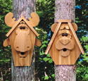 Moose & Bear Birdhouse Wood Plan