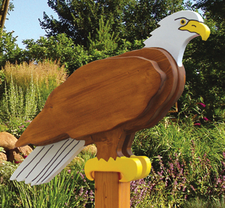 All Layered Animals - Eagle Sentry Wood Plan