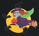 Wendy Witch Woodcraft Pattern