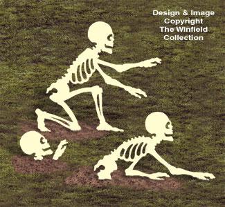 Rising Skeletons Woodcrafting Pattern