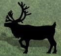 Caribou Shadow Woodcrafting Pattern