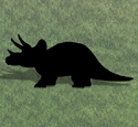 Triceratops Shadow Woodcraft Pattern