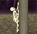 Climbing Skeleton Woodcrafting Pattern
