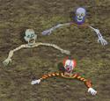 Rising Bug Eyed Ghouls Pattern Set