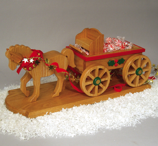 Horse Drawn Wagon Woodcraft Project Plan