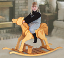 Child Rocking Horse Woodcrafting Plan