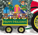 Holiday Wagon Woodcrafting Project Plan