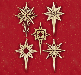 All Scroll Saw Projects Shining Star Scroll Saw Ornaments Pattern