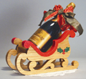 Sleigh Wine Holder Woodcrafting Project Plan