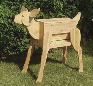 Structure Woodworking Plans - Deer Feeder Wood Plan