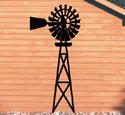 Country Windmill Yard Shadow Woodcraft Pattern