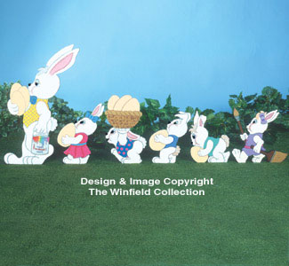 Easter Parade Woodcraft Pattern
