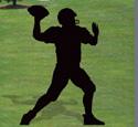 Quarterback Shadow Woodcrafting Pattern
