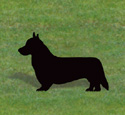Welsh Corgi Shadow Woodcraft Pattern