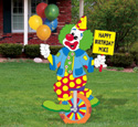Clown Party Sign II Woodcrafting Pattern