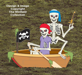 Haunted Rowboat Wood Project Pattern