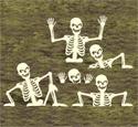 Rising Skeletons 2 Woodcrafting Pattern