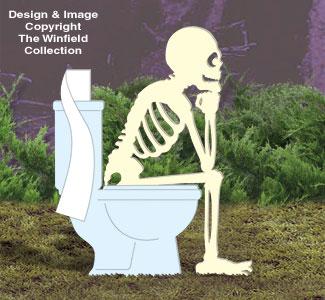 Skeleton Thinker Woodcrafting Pattern