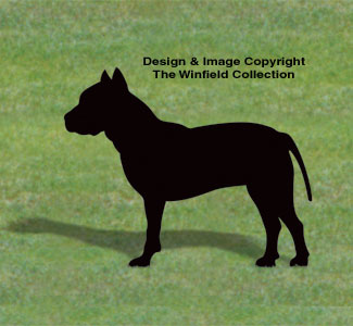 Pitbull Shadow Wood Pattern