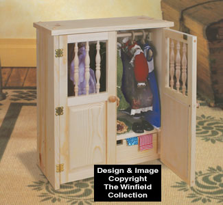 Doll Armoire Wood Pattern