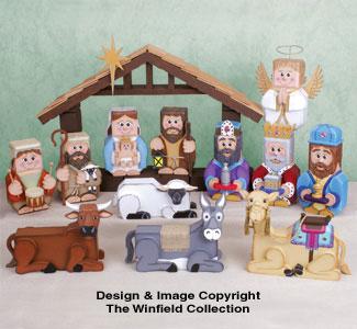 Nativity Patio Paver Pals Pattern