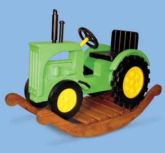 Tractor Rocker Plans