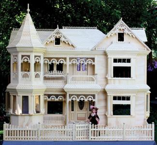 Victorian Barbie House Plans
