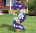Gigantic Easter Cross Woodcraft Pattern