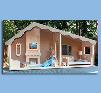 Barbie Bungalow Plans