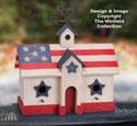 Patriotic Birdhouse Pattern