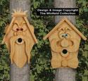Cedar Men Birdhouses #2 Pattern