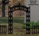 Graveyard Entrance Woodcraft Pattern