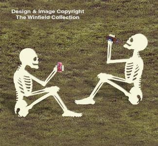 Skeleton Break Woodcrafting Pattern
