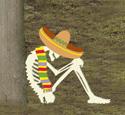 Skeleton Siesta Woodcraft Pattern