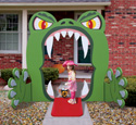 Monster Mouth Entry Wood Project Pattern