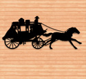 Old West Express Shadow Pattern