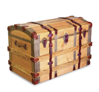 Chests European Trunk Woodworking Plans