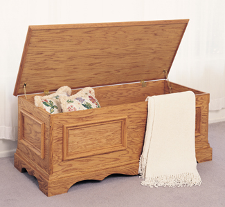 Chests blanket chest woodworking plans for Blanket chest designs