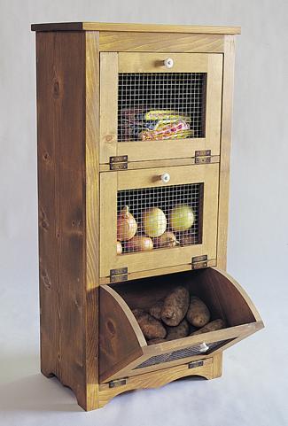 Storage Bins Wood Plan