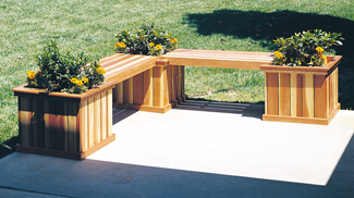 All Yard Amp Garden Projects Planter Bench Woodworking Plans
