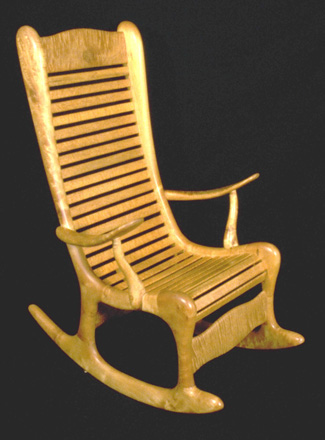 Other Furniture Curly Maple Rocker Plans