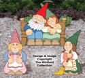 Small Garden Gnomes #4 Pattern Set