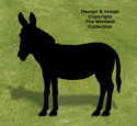Donkey Shadow Woodcraft Pattern