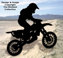 Motocross Shadow Woodcraft Pattern