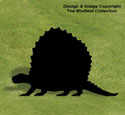 Dimetrodon Shadow Woodcraft Pattern