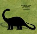 Brontosaurus Shadow Wood Pattern